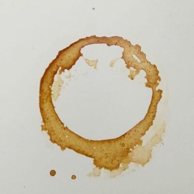 Coffee Mug and Coffee on Kitchen Counter